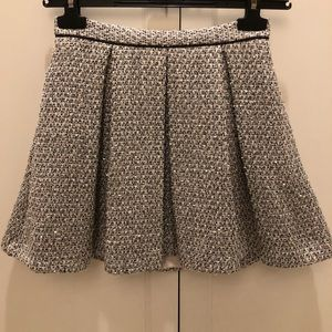 Top shop tweed skirt